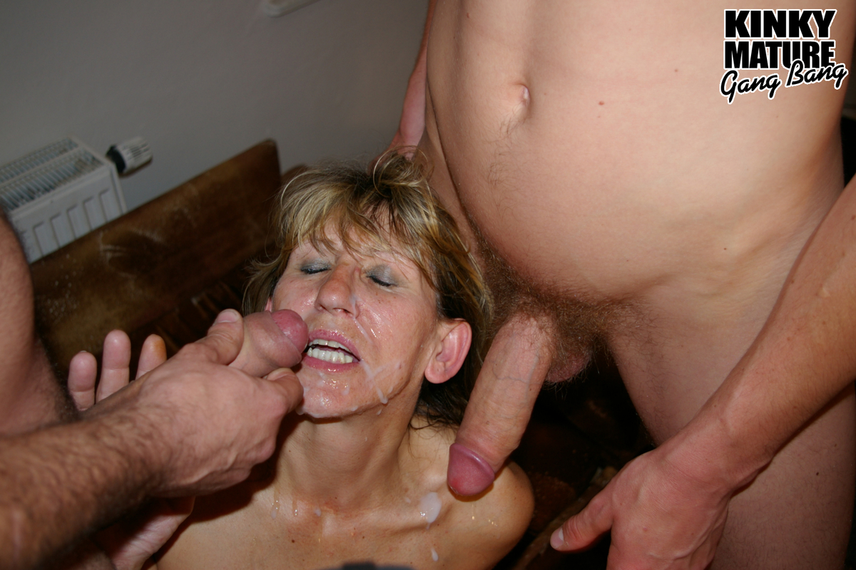 Assured, what Mature amateur swinger gangbang happens